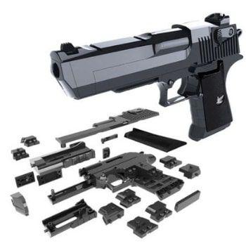 ¡Pistola Desert Eagle de juguete para montar por bloques a solo 3,94€!