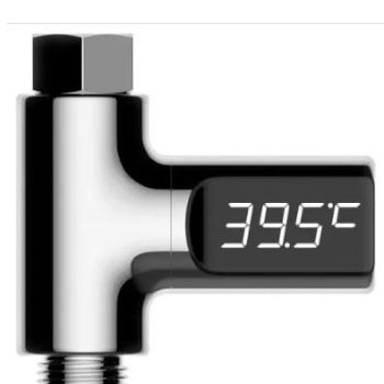 Termométro LED para ducha con cupón descuento por solo 8,90€