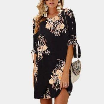 ¡Vestido HiloRill con estampado floral con descuentazo