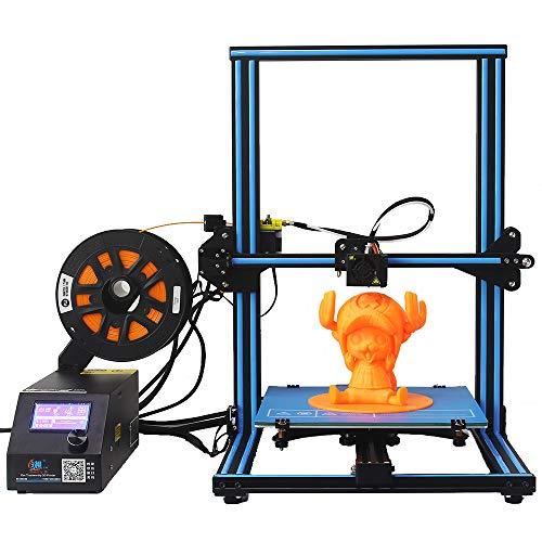 CCTREE CREALITY CR-10S DIY Kit de impresión 3 D de escritorio, tamaño grande de impresión 300x 300x 400mm, filamento de 1,75mm, boquilla de 0,4mm, color azul