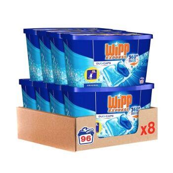 8 packs de detergente Wipp Express