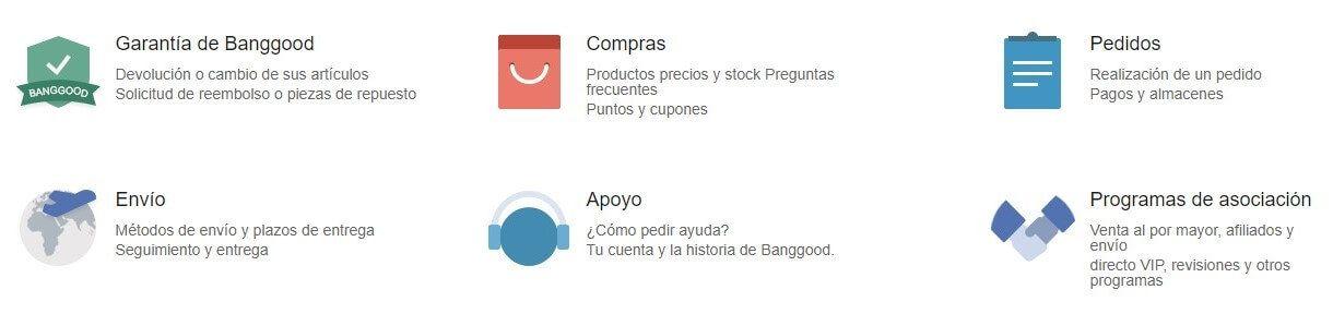 Comprar en Banggood con garantía