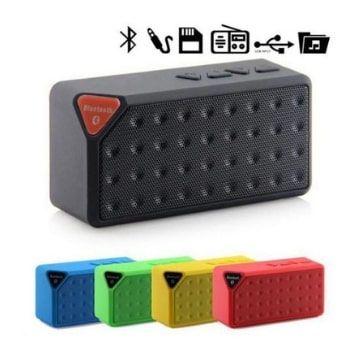 ¡Altavoz Bluetooth Water Cube Mini X3 con cupón DESCUENTO!