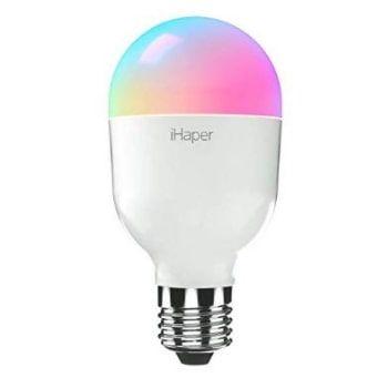 Bombilla inteligente iHaper. ¡Con colores regulables y DESCUENTO!