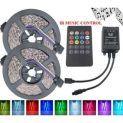 Comprar Pack de 2 tiras LED con control remoto con descuento