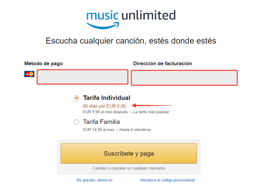 music unlimited amazon promocion gratis