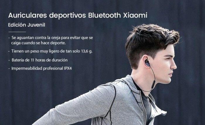 Cascos deportivos Bluetooth en oferta