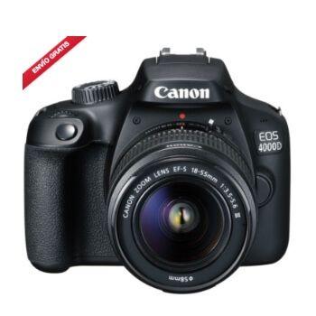 Cámara Canon EOS 4000D con objetivo por 199,99€ y envío gratis