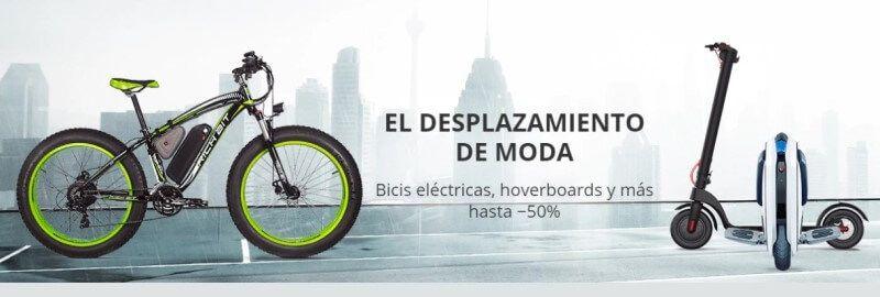 Descuentos patinetes y bicis eléctricas
