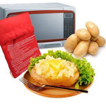 ¡Bolsa para asar patatas en el micro por 0,89€+envío GRATIS!