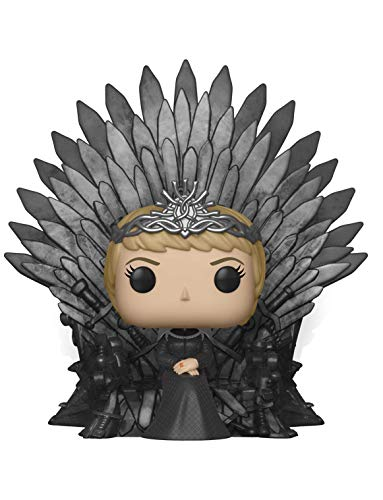 Funko Pop Deluxe: Game of S10: Cersei Lannister Sitting on Iron Throne Figura Coleccionable 37796