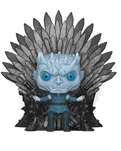 Funko Pop Deluxe: Game of S10: Night King Sitting on Throne Figura Coleccionable 37794