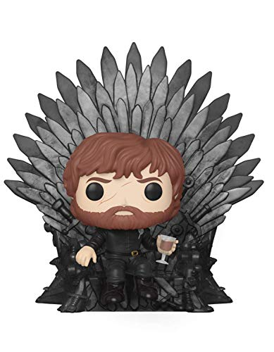 Funko Pop Deluxe: Game of S10: Tyrion Sitting on Iron Throne Figura Coleccionable 37404