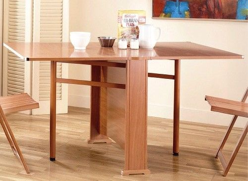 mesas de cocina plegables