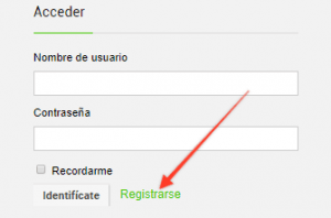 registrarse web de chollos