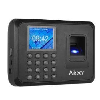 Máquina de fichar biométrica Aibecy al PRECIO + BARATO