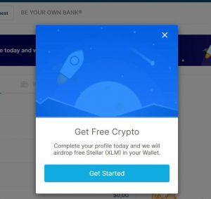 Blockchain registro sencillo dinero gratis