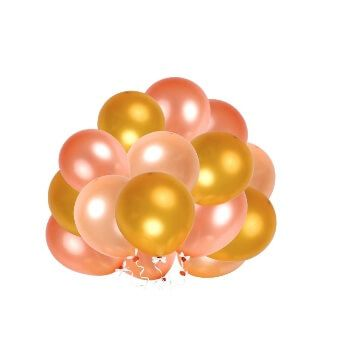 Pack de 60 globos confeti Esonmus por 5,99€ en Amazon