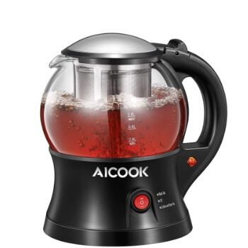 Hervidor de agua con infusor de té Aicook ¡por 18,99€!