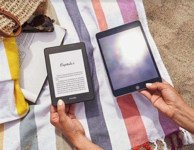 leer en kindle o tablet