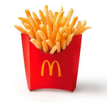 Patatas medianas por 1€ en McDonalds