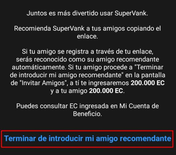 supervank registro