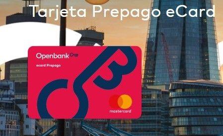 tarjeta prepago openbank gratis
