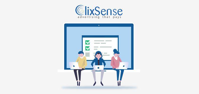 ClixSense tareas