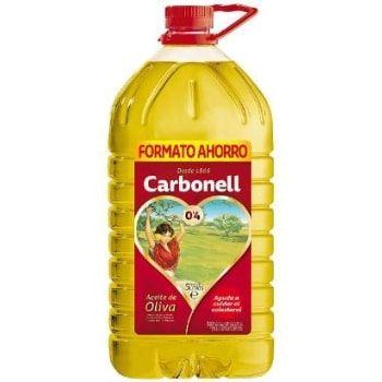 Aceite de oliva Carbonell 5l a MITAD DE PRECIO en Amazon