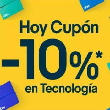 ¡Cupón Ebay 10% de descuento en tecnología!