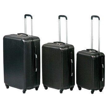 Juego de 3 maletas de viaje a precio de chollo