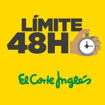Límite 48 Horas: ¡Rebajas El Corte Inglés con hasta un -60%!