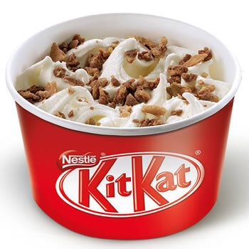 Mini McFlurry Kit Kat por 1€ en McDonalds