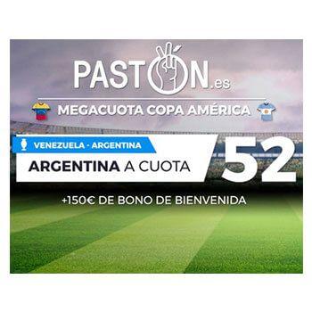 Megacuota Copa América si Argentina gana a Venezuela