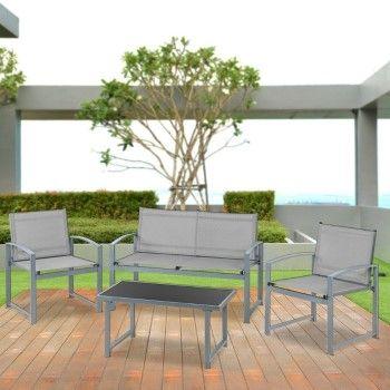 4 muebles de jardín o terraza McHaus por solo 59,99€