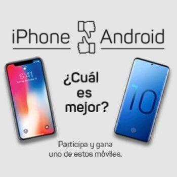 ¡Vuelve! ¡Samsung S10 o iPhone XS GRATIS!