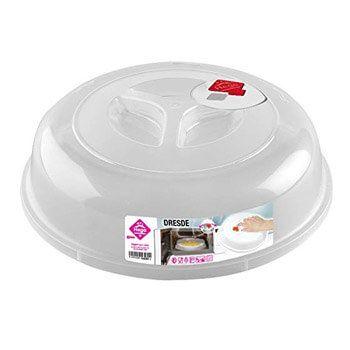 Tapa para microondas (con válvula) por 0,96€ en Amazon