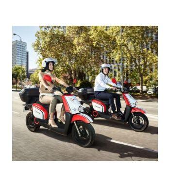 60 minutos gratis en Acciona Motosharing con cupón
