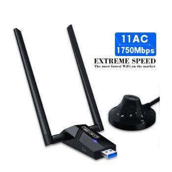 Adaptador wifi 2 antenas Auqush por 19,99€ en Amazon