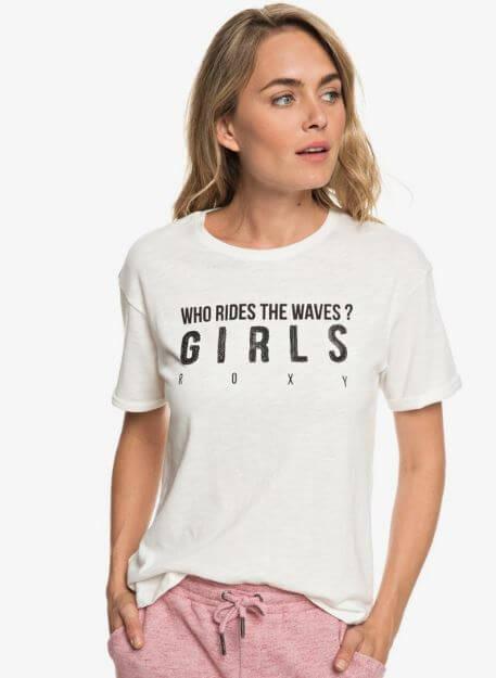 camiseta roxy waves barata oferta descuento rebajas chica