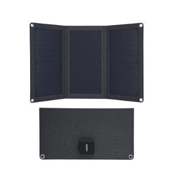 Cargador panel solar Aukey a 28,99€ en Amazon