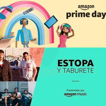 Concierto de Estopa y Taburete GRATIS por el Amazon Prime Day