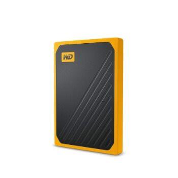 Disco duro sólido externo WD My Passport Go 500 GB por 75,99€ en Amazon