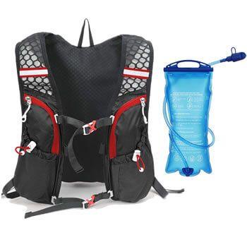 Chaleco deportivo Lixada + botella de agua por solo 19,19€ en Amazon