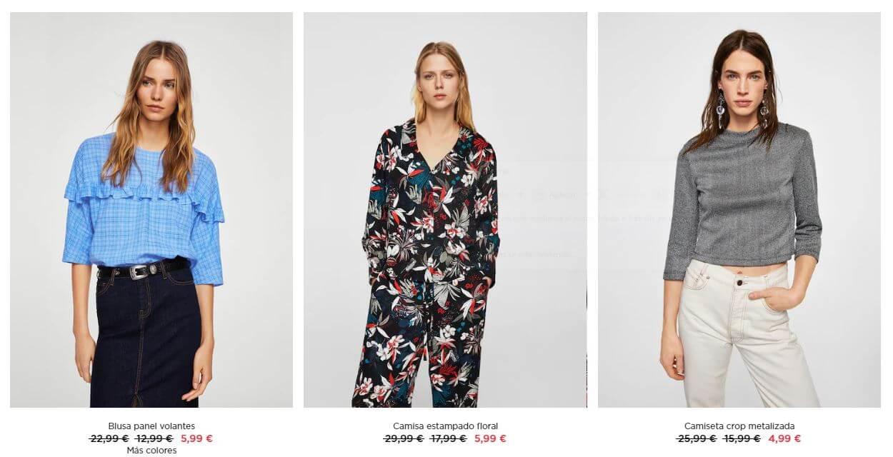 mango rebajas mujer outlet vestidos descuento oferta
