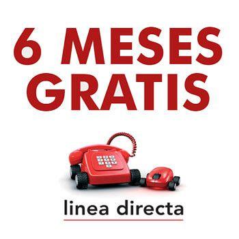 ¡6 meses de seguro de coche GRATIS con Línea Directa!