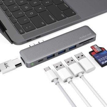 Hub USB C 7 en 1 Dodocool con gran descuento