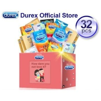 Pack de 32 condones Durex por 6,90€ (tienda oficial en AliExpress)