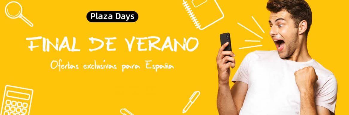 plaza days septiembre aliexpress promociones descuentos ofertas rebajas