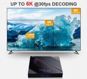 Comprar Android TV Box H96 Max barato